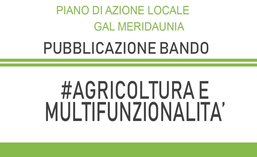 Sostegno per miglioramento e sostenibilità delle aziende agricole Monti Dauni - III pubblicazione