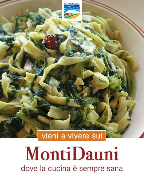 MontiDauni: dove la cucina è sempre sana